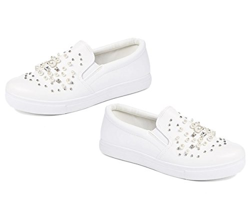 On Back Pearl to Assorted School Kenna White Sale for Classic Fashion Sneakers Slip Casual Women Colors Kenna TravelNut Fq0Cfwxq