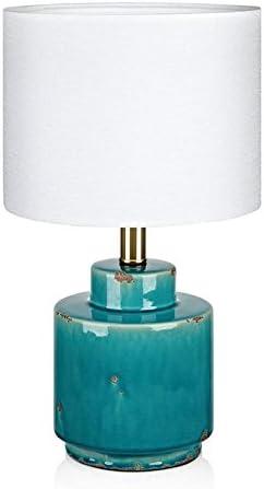 Markslöjd Cous E27 Azul, Color blanco lámpara de mesa - Lámparas ...