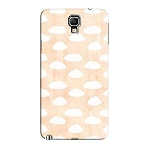Cover It Up - Cloud Orange Sky Galaxy Note 3 Neo Hard Case