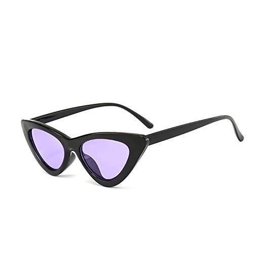 AJIAO Sunglasses Fashion Cute Ladies Cat Eye Sunglasses Women Vintage Small Sun Glasses Femaleuv400
