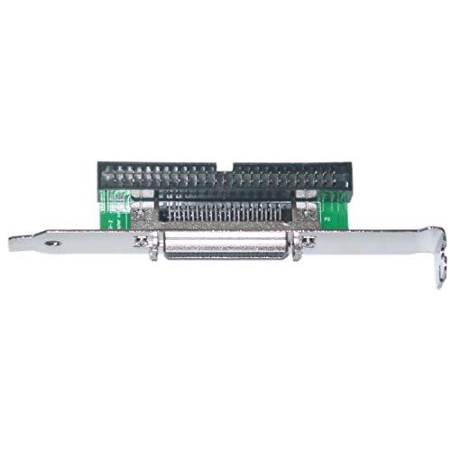 Gender External Changer Scsi (GOWOS SCSI Computer Slot Adapter, Internal IDC 50 Male to External HPDB50 (Half Pitch DB50) Female)