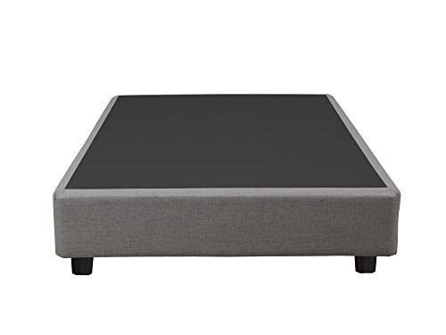 (Spinal Solution Boxsping Foundation Platform Bed  For Full Size Mattress, Comes With Legs To Eliminate Need For Bed Frame)