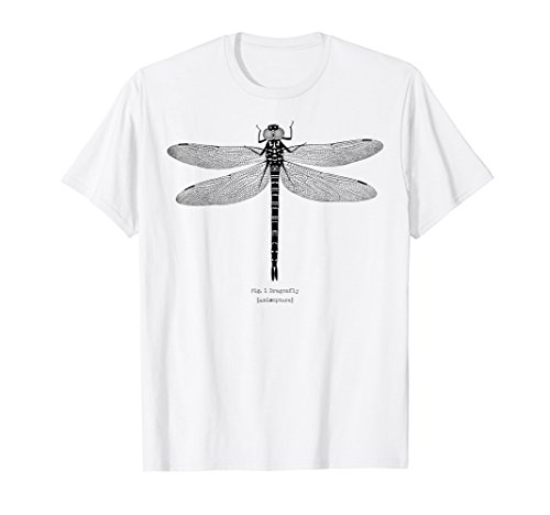 Pastel Goth Dragonfly [Anisoptera] Entomology T-Shirt