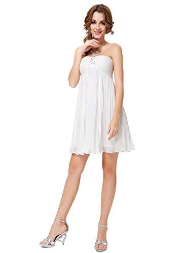 Ever-Pretty HE05120WH12 - Vestido para mujer Blanco