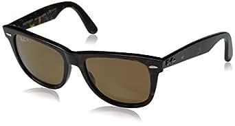 Ray-Ban Original Wayfarer Sunglasses - Polarized Tortoise/Crystal Brown Polarized, M
