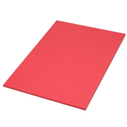 [해외]색깔 별도 용지 터 기슈 종이 매우 두껍게 입 빨강 파지 레드 약 0.26 mm장 Y 눈 A4 10 매 / Color quality paper Hokuetsu Kishu paper super thick mouth red because it`s red about 0.26 mmsheet y eye A4 10 sheets