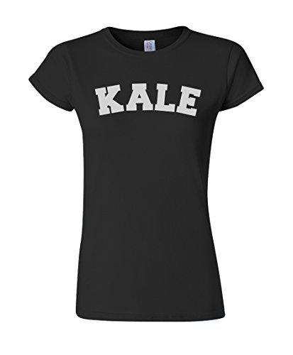 Ptshirt.com-19359-Kale Fashion Funny Slogan Ladies Fit T-Shirt-B00URMQPQO-T Shirt Design