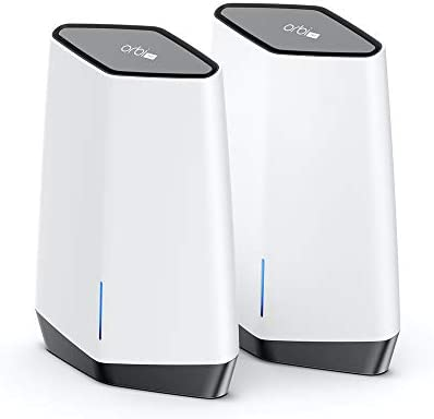 NETGEAR Orbi Pro WiFi 6 Tri-Band Mesh System (SXK80) | Router with 1 Satellite Extender for Business or Home | Coverage as much as 6,000 sq. toes. and 60+ Devices | AX6000 802.11 AX (as much as 6Gbps)