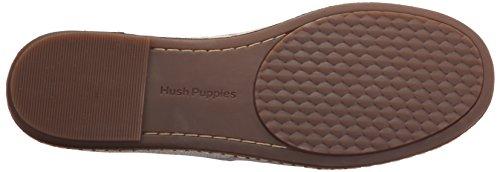 Hush Puppies Women Sebeka Piper Flat Off-white Nubuck