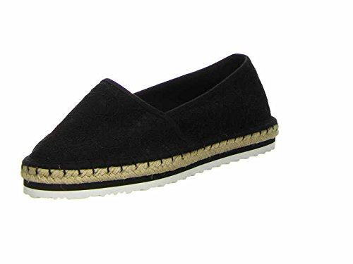 Tamaris - Mocasines de Tela para Mujer Negro Negro 36, Color Negro, Talla 37 EU: Amazon.es: Zapatos y complementos