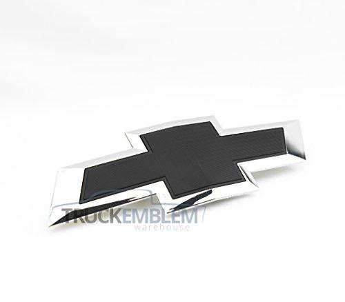 chrome chevy grill emblem - 2