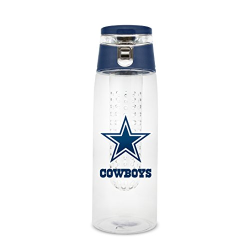 - NFL Dallas Cowboys 20oz Plastic Infuser Sport Bottle