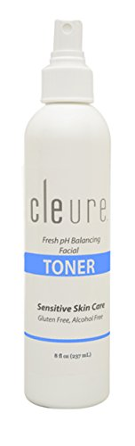 Cleure Hypoallergenic Alcohol-free Toner - Sensitive Skin, Great for Acne Prone Skin (8oz.)