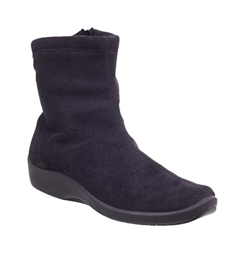 Arcopedico Womens L8 4171 Black Suede Boot - 40