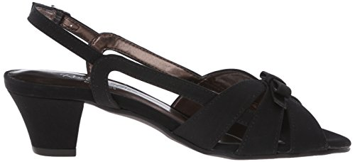 Rose Petals Womens Lela Dress Sandal Black Microtouch wb9Mq