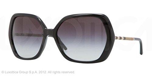 Burberry Black 4122 Round Sunglasses Polarised Lens Category 3