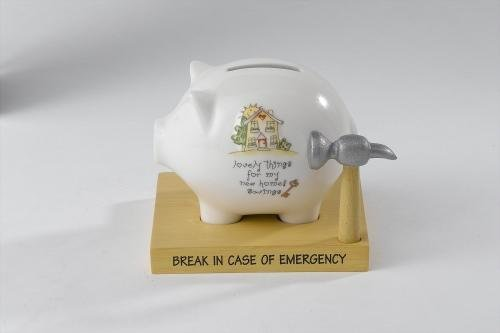 Saving Occasions A23600 New Home Savings Money Bank (Furniture Banks)