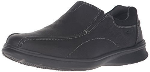 Clarks Men's Cotrell Step Slip-On Loafer, Black Oily, 9.5 M US 26119615