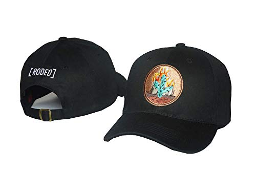 Cap Scott - Fashion Baseball Cap Hip Hop Snapback Dad Hat Travis Scott Rodeo Hat for Women Men Black