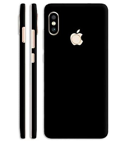 separation shoes e3cd1 fd644 Vcare GadGets Look Like iPhone X Mobile, Jet Black Skin: Amazon.in ...
