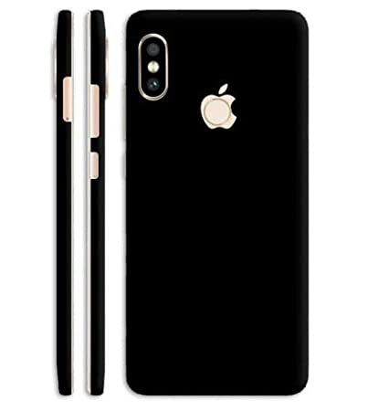 Vcare Gadgets Look Like Iphone X Mobile Jet Black Skin For Redmi Note 5 Pro Apple Iphone Style For Back