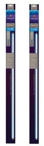 Image of (2 Pack) Coralife 80408 Actinic T-5 High Output Fluorescent Lamp, 31-Watt