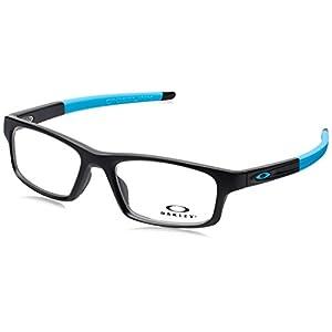 Oakley Crosslink Pitch OX8037-0152 Eyeglasses Satin Black Clear Demo Lens 52 18