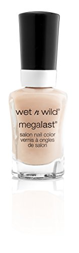 wet n wild Megalast Nail Color, 2% Milk, 0.45 Fluid Ounce