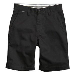 Fox Racing Essex Youth Boys Short Fashion Pants - Black / Size 24