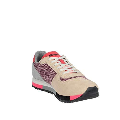 En a 9smelrose01 Verde Rosa Zapatos Ante Mujer De Mes Polvo Blauer Agua ZYwtHR