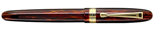 Xezo Phantom Rollerball Pen. Limited-edition of 500. Individually Numbered. Screw-on cap. 18-Karat Gold Plated. Triple Layer of Translucent Coating by Xezo (Image #4)