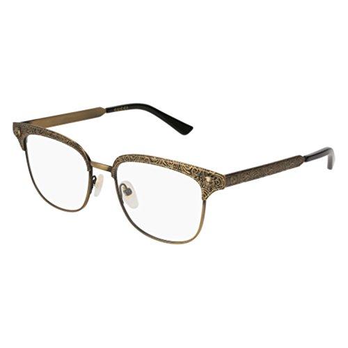 Eyeglasses Gucci GG 0221 O- 001 GOLD /