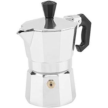 Amazon.com: Cafetera italiana Moka de 1.7 fl oz, 1 taza de ...