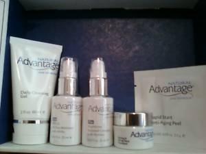Natural advantage facial products