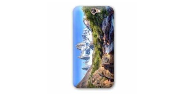 Amazon.com: Case Carcasa HTC One A9 Montagne - - cascade ...