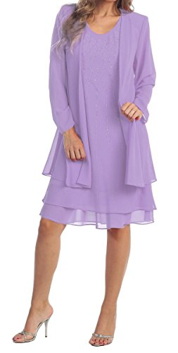 Buy mother of the bride short dress with jacket - 4