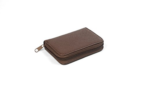 Coin Purse Wallet With Coin Sorter - Quick Change On The Go - Trusty Coin Pouch For Pocket, Purse Or Car (Dark -
