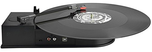 DigitNow! BR612A Portable USB Vinyl Turntable Record to Mp3 CD Converter, Supports Windows/Mac