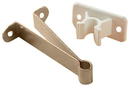 Rv Designer E241 Plastic Door Holder Clip Style 3 Inch White