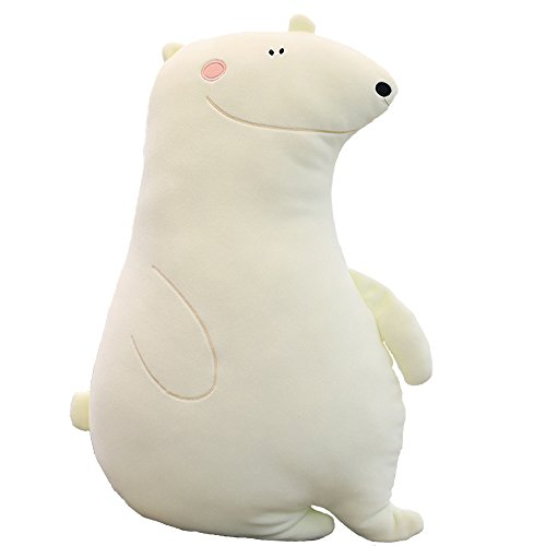 MARUKQW Soft Plush Cartoon Polar Bear Cute Animals Pillow Reduce Pressure Toy Car Toy 20 inch by MARUKQW