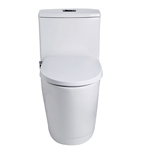 Electric Toilet for Nozzle, Brass Inlet T-Valve Easy use Plated Installation