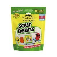 Yummy Earth - All Natural Gluten Free Sour Jelly Beans - (Pack of 12) - Pack Of 12 by YummyEarth