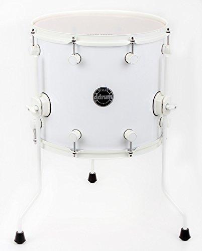 Ddrum Reflex Floor Tom 12X14 White/White Ddrum Floor Toms
