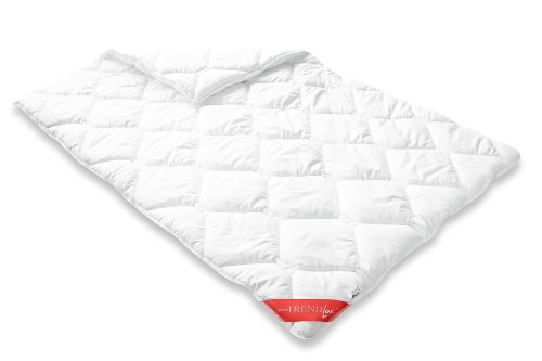 Badenia 03753430140 Bettcomfort Steppbett Trendline Micro Kochfest Duo, 135 x 200 cm, weiß