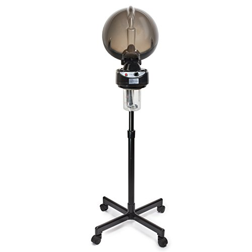 Professional Hair Steamer Rolling Stand Beauty Salon Color: Salon Sundry Professional Salon Hair Steamer With Rolling