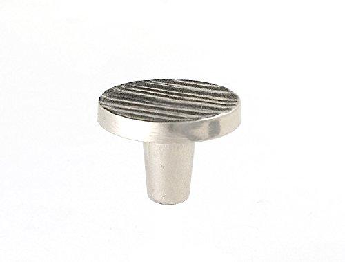 Forged 3 1.5'' Round Knob Finish: Satin Nickel