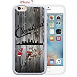 Apple iPhone 7 Case, Cleveland Cavs Champions of Ohio States 35 Drop Protection Never Fade Anti Slip Scratchproof White Soft Rubber - Champion Gold Rose