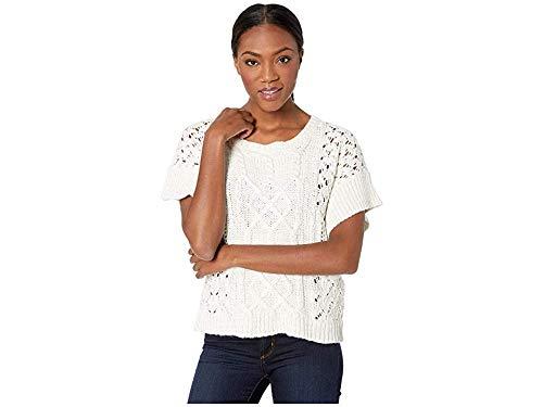 prAna Women's PatchworkMateo Athletic Sweaters, Large, Bone by prAna