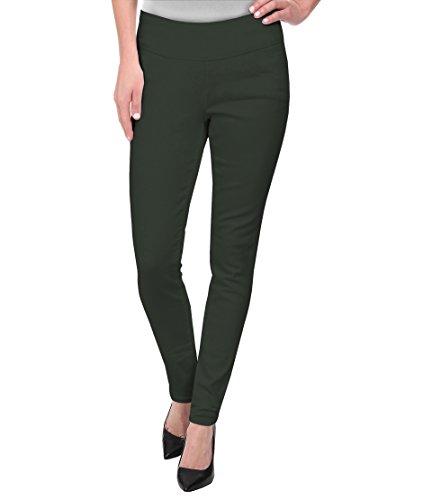 - HyBrid & Company Super Comfy Stretch Pull On Millenium Pants KP44972 Olive 3X