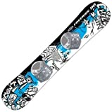 FREERIDE 110 BEGINNER LEVEL 2 SNOWBOARD, FIT FOR RIDER UP TO 95LBS BOARD DESIGNS WILL VARY FROM PHOTO by FreeRide